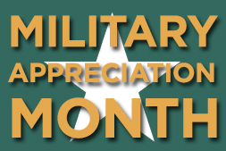 Celebrate Military Appreciation Month By Saluting Your Hero
