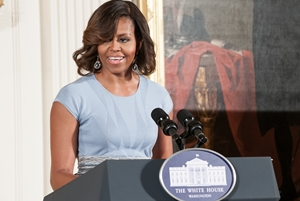 First Lady Michelle Obama Presents National Medal for Museum & Library Service