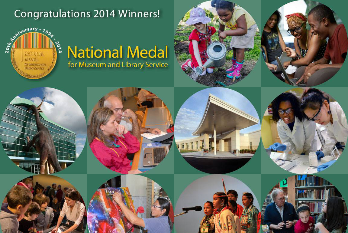 IMLS Announces Recipients of 2014 National Medal for Museum & Library Service