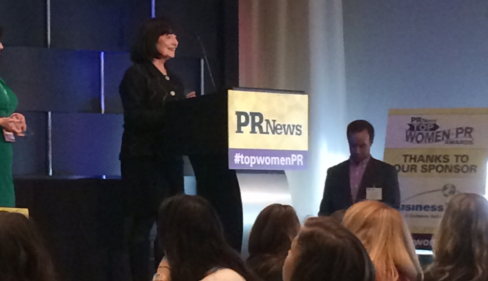 PR News Honors Judy Whittlesey for PR Excellence