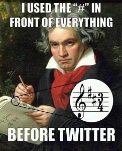 Mozart Hashtag