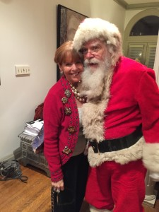 Susan Davis International and Santa Claus holiday party