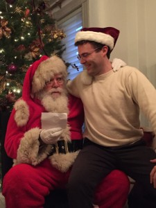 Susan Davis International dan Santa Claus holiday party