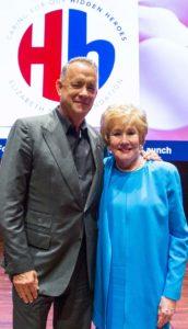 Tom Hanks and Elizabeth Dole