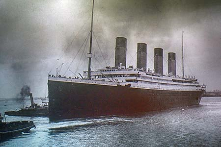 The Titanic in Belfast, Northern Ireland