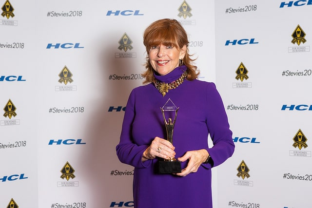 Susan Ann Davis Wins Gold 2018 Stevie® Lifetime Achievement Award for Women in Business