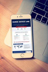 Nurse Advice Line graphic