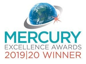 Mercury Excellence Award graphic