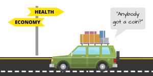 Health and Economy graphic